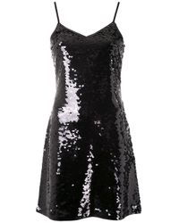 MICHAEL Michael Kors スパンコール ドレス Black