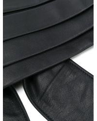 Пояс Со Складками Philosophy Di Lorenzo Serafini, цвет: Black