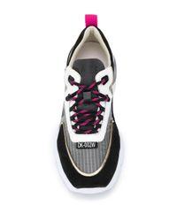Sneakers con pannelli a contrasto di Date in Multicolor