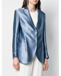Giorgio Armani シングルジャケット Blue