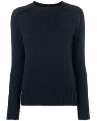 Roberto Collina Blue Loose Fit Sweater