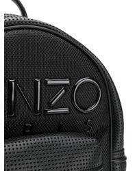 Zaino con ricamo di KENZO in Black