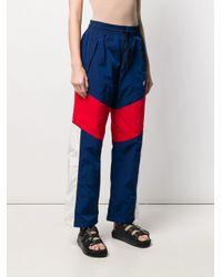 Alexander Wang Blue Olympic Track Pants