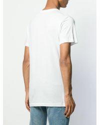 メンズ John Elliott ロングライン Tシャツ White