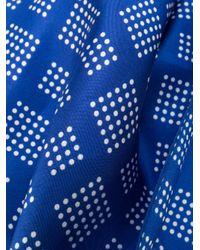 Écharpe à pois Dell'Oglio pour homme en coloris Blue