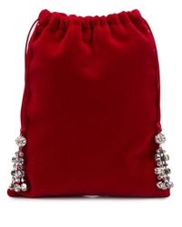 Mini sac à ornements Ca&Lou en coloris Red