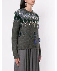 Dice Kayek パターン セーター Multicolor