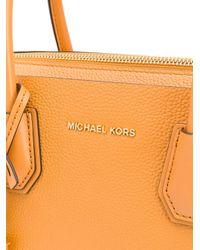 MICHAEL Michael Kors レザー ハンドバッグ Orange