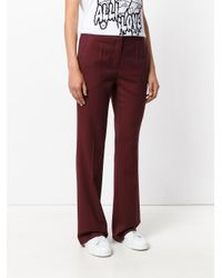 ODEEH - High Waisted Tailored Trousers - Lyst