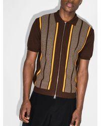 メンズ Beams Plus ストライプ ポロシャツ Multicolor