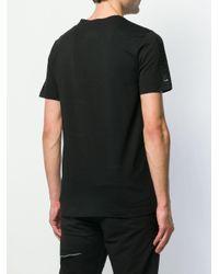 Philipp Plein T-Shirt mit Logo-Schild in Black für Herren