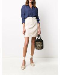 A.P.C. Aライン ミニスカート Multicolor