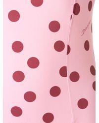 Dolce & Gabbana ポルカドット水着 Pink