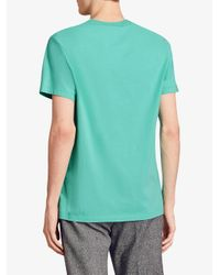 Burberry - Blue Jersey T-shirt for Men - Lyst