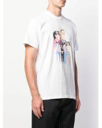 メンズ Supreme Kiss Tシャツ White