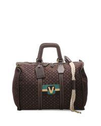 Louis Vuitton 2015 プレオウンド モノグラム ダッフルバッグ Brown