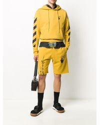 メンズ Off-White c/o Virgil Abloh Arrows トラックショーツ Yellow