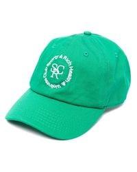 Sporty & Rich ロゴ キャップ Green