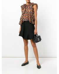 Zanellato Black Double Clasp Tote Bag