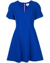 MILLY Amelia ドレス Blue