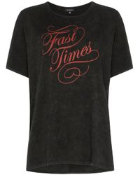 R13 Fast Times Tシャツ Black