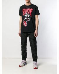 メンズ SSS World Corp Snoop Tシャツ Black