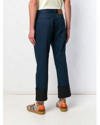 Loewe Blue Fisherman Trousers for men