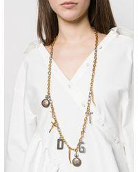Dolce & Gabbana マルチチャーム ネックレス Multicolor