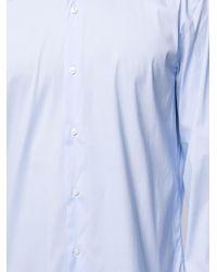 メンズ BOSS by Hugo Boss ボタン シャツ Blue