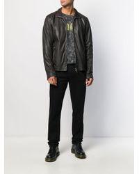 メンズ Stewart ライダースジャケット Multicolor