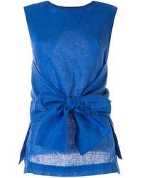 Туника С Завязками Bambah, цвет: Blue
