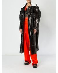 Litkovskaya - Black Loose Fit Coat - Lyst