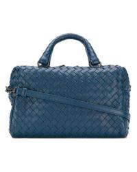Bottega Veneta - Blue Mini Top Handle Bag - Lyst
