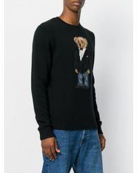 Polo Ralph Lauren - Black Teddy Bear Jumper for Men - Lyst
