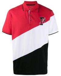 メンズ Polo Ralph Lauren ストライプ ポロシャツ Red