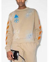 メンズ Off-White c/o Virgil Abloh X Browns 50 スウェットシャツ Multicolor