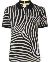 Рубашка С Короткими Рукавами И Зебровым Принтом Lacoste, цвет: Black