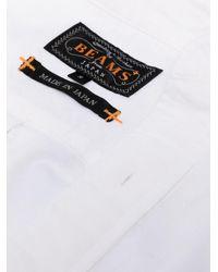 メンズ Beams Plus オックスフォードシャツ Black