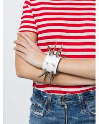 Junya Watanabe - Metallic Spike Cuff Bracelet - Lyst