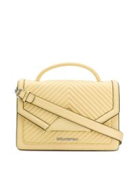 Bolso de hombro K/Klassik acolchado Karl Lagerfeld de color Yellow