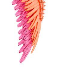 Mignonne Gavigan - Pink Oversized Wings Earrings - Lyst