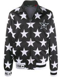 Dolce & Gabbana Black Star Bomber Jacket for men