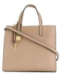 Marc Jacobs Brown Small The Grind Shopper Tote