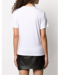 Temperley London プリント Tシャツ White