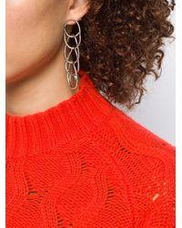 Pendientes con diseño de eslabones Marni de color Multicolor