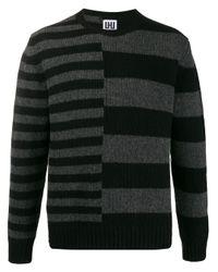Maglione a righe di Les Hommes in Black da Uomo