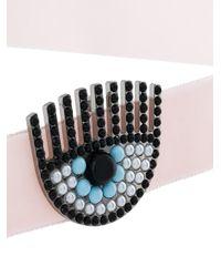 Chiara Ferragni - Pink Eye Choker - Lyst