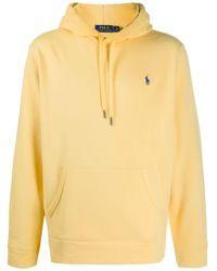 メンズ Polo Ralph Lauren ロゴ スウェットパーカー Yellow