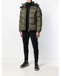Пуховая Куртка С Капюшоном Moncler для него, цвет: Green