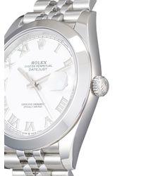 Наручные Часы Oyster Perpetual Datejust 41 Мм 2020-го Года Pre-owned Rolex для него, цвет: White
